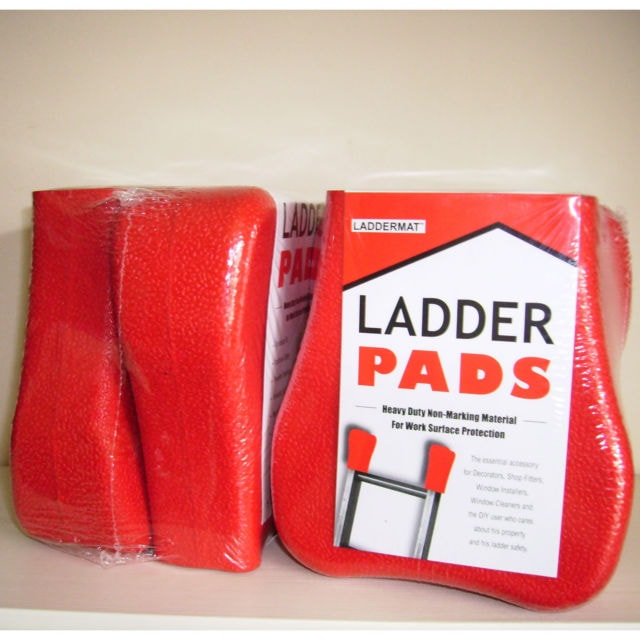 Ladder Anti-Slip Protective Pads - 2 Pack