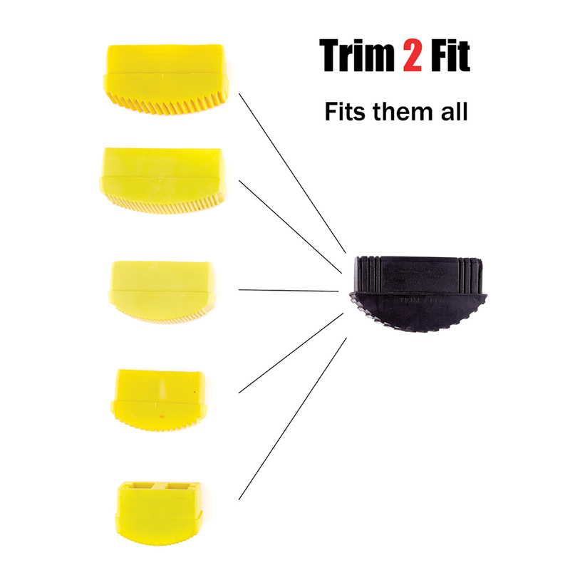 Trim 2 Fit Ladder Replacement Feet (Triple Pack Offer)