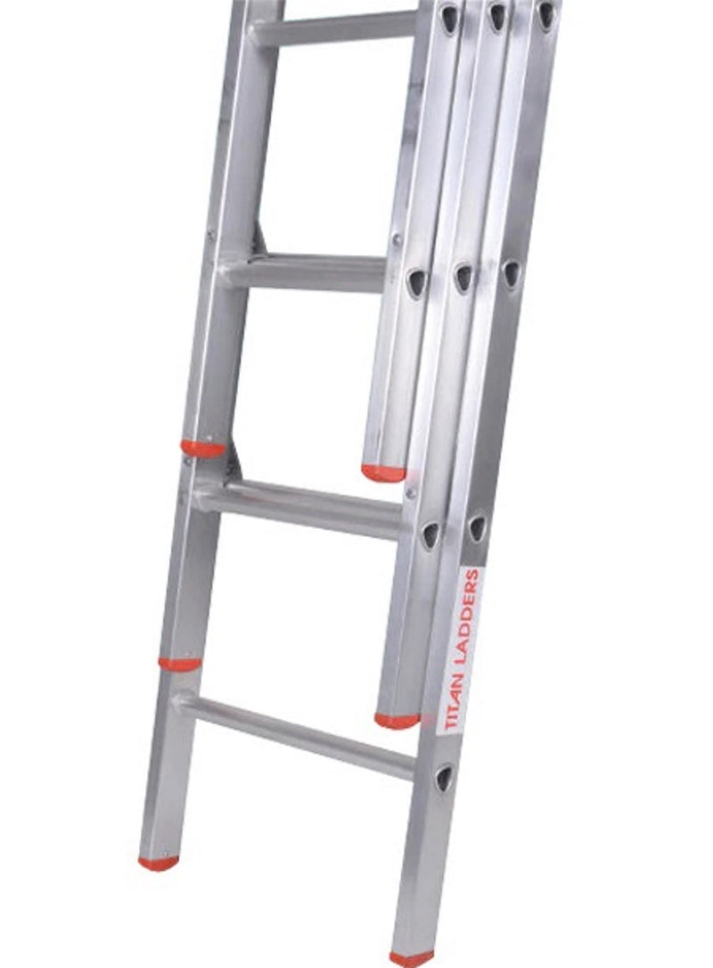 Drabest DIY Extension Ladders - 2 and 3 Section 3.7m to 8.6m