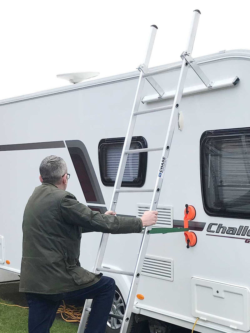 Caravan Cleaning Ladder - Ideal for Maintenance of Caravans and Motor Homes