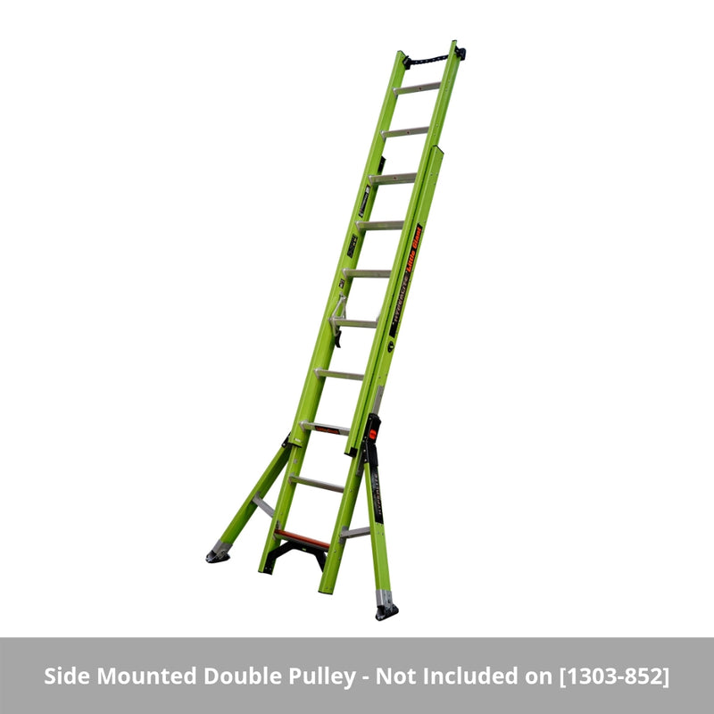 Little Giant HyperLite Sumostance GRP Extension Ladder - 4.3 - 11.0m