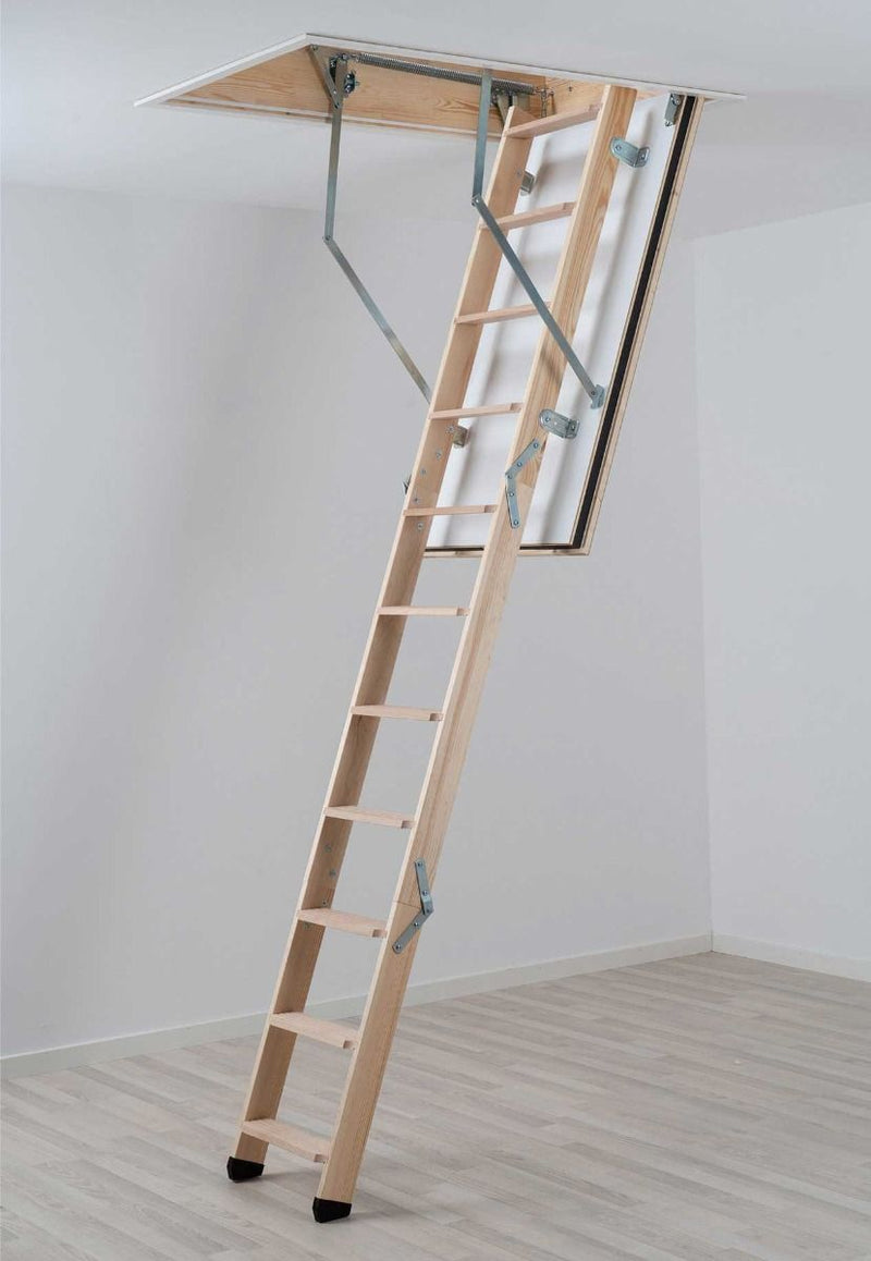 Dolle REI 45 Fire Resistant Timber Folding Loft Ladder