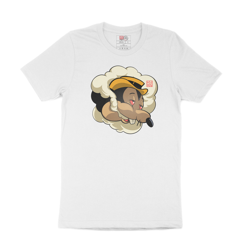 High Mortimer Mouse White Tee