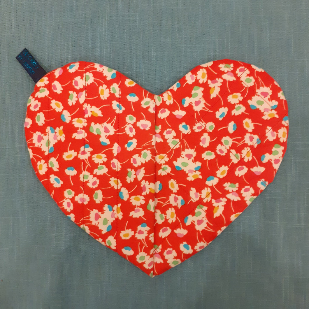 Liberty Bloomsbury Lifestyle Heart Pot Holder