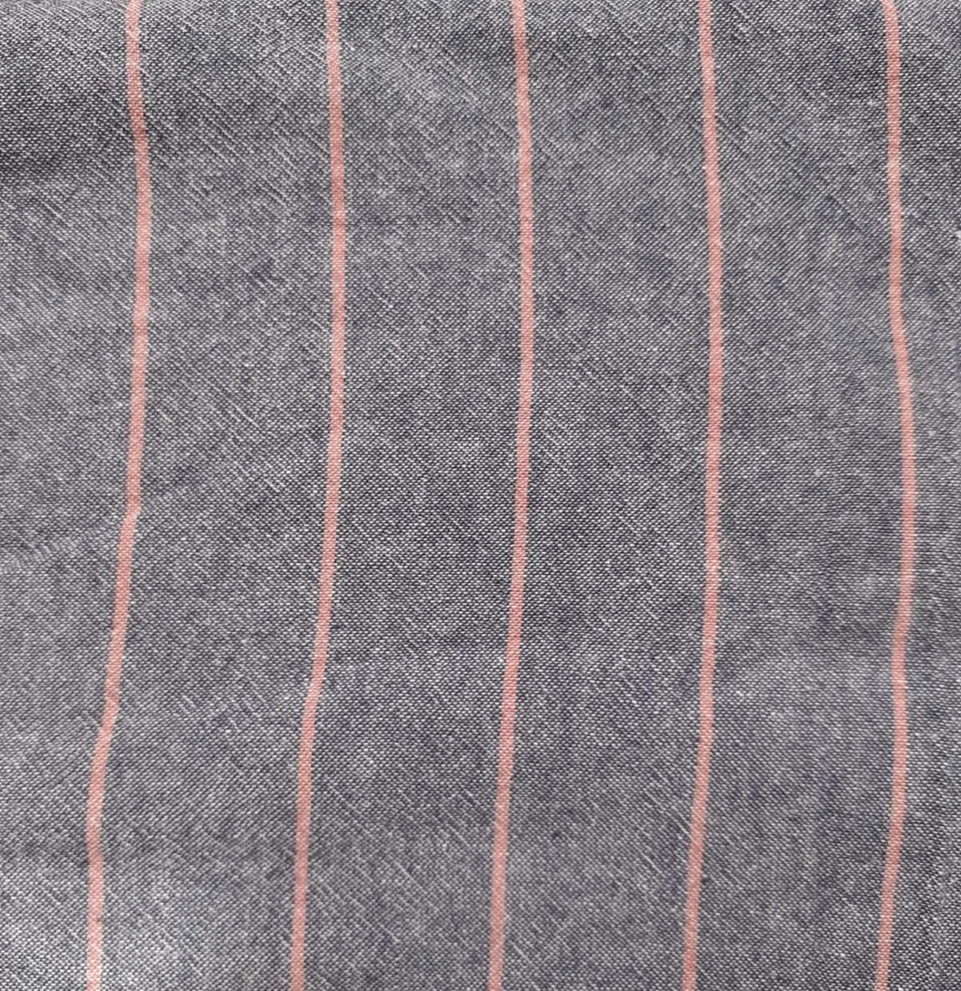 Chambray (Pink Stripe)