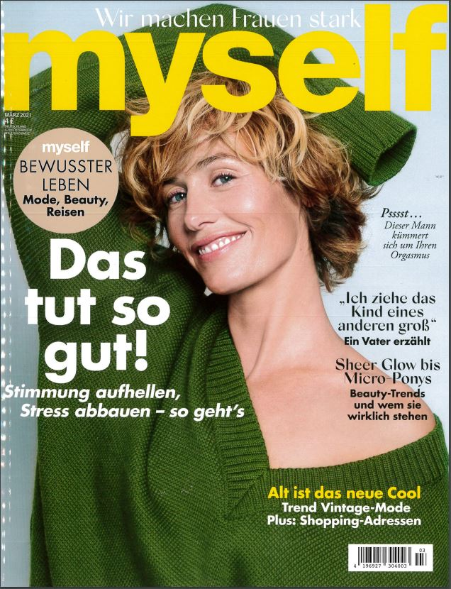 myself march issue title