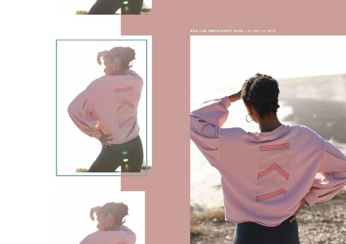 lookbook fall winter 2020 sweater rose