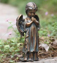 Load image into Gallery viewer, Bronze Praying Angel