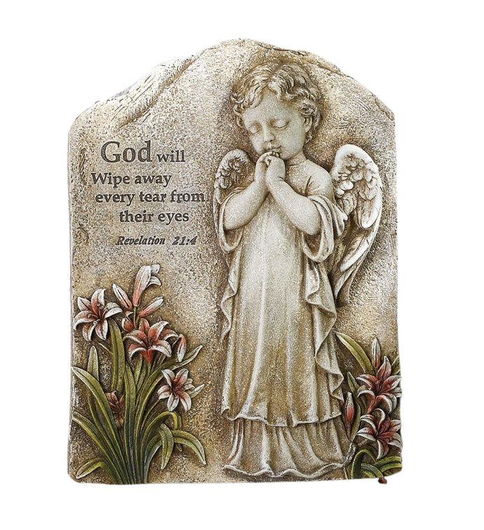 Praying Angel Plaque