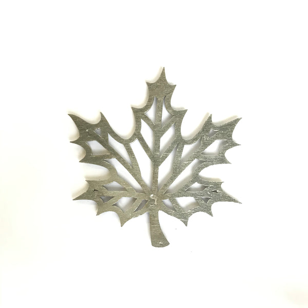 MAPLE LEAF COASTER, TRIVET & ORNAMENT