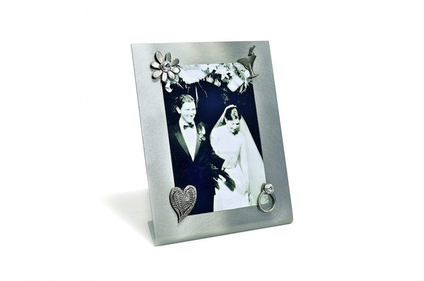 MAGNETIC PICTURE FRAME + WEDDING MAGNET SET