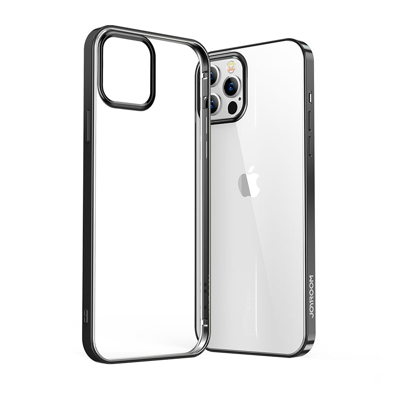 Streamer Electroplating Clear Soft Case for iPhone 12 Pro Max