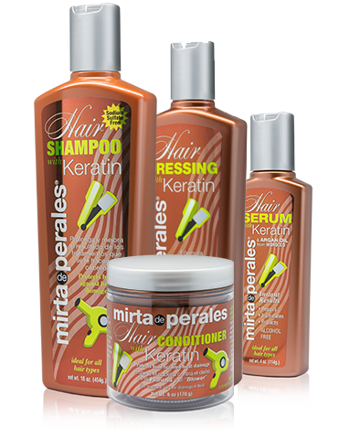 coarse hair treatment - Mirta de Perales