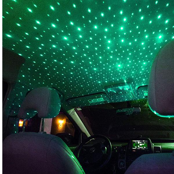 Plug and Play Car and Home Ceiling Romantic USB Night Light!