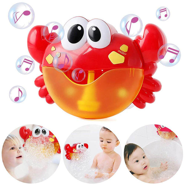Big Crab Automatic Bubble Maker Music Bath Toy