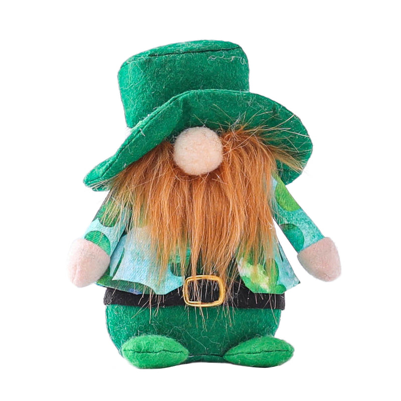Irish Day St. Patrick's Day Faceless Doll Rudolph Doll Decoration Plush Toy