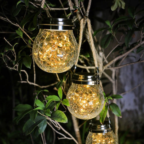 Retro Lantern Solar Lights