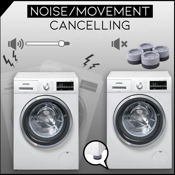 Shock And Noise Cancelling Washing Machine Support