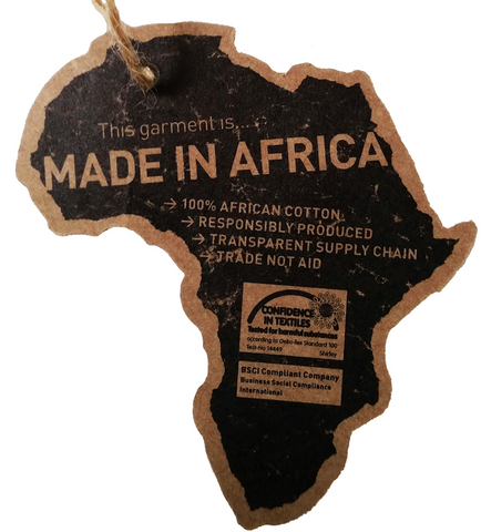 All products for A REAL ONE are Made in Africa
