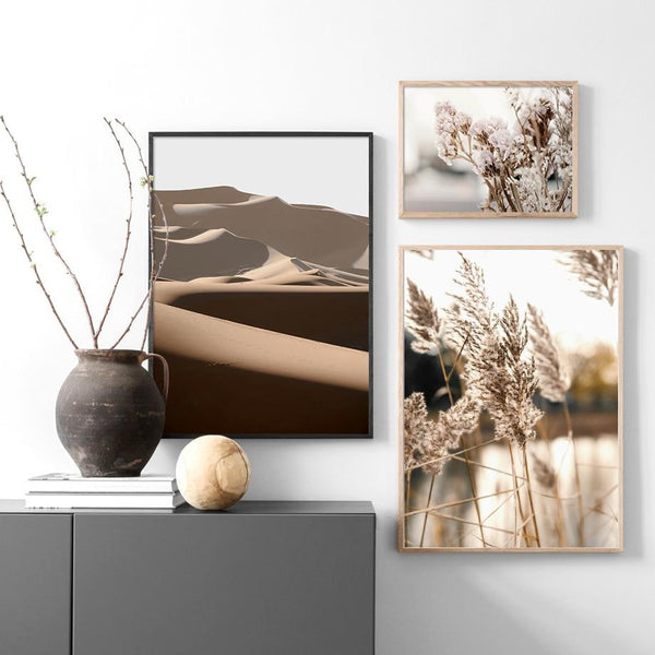 Warm Vanilla Hues Canvas Prints-Canvas-Eden + Ash