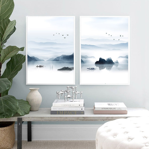 Out to Sea Canvas Prints-Canvas-Eden + Ash