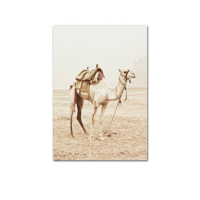 Champagne Moroccan Canvas Prints-Canvas-Eden + Ash