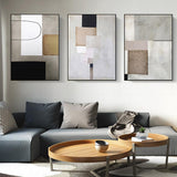 Geo Construct Canvas Prints-Canvas-Eden + Ash