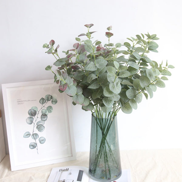 Silk Eucalyptus Stem-Artificial Flowers-Eden + Ash