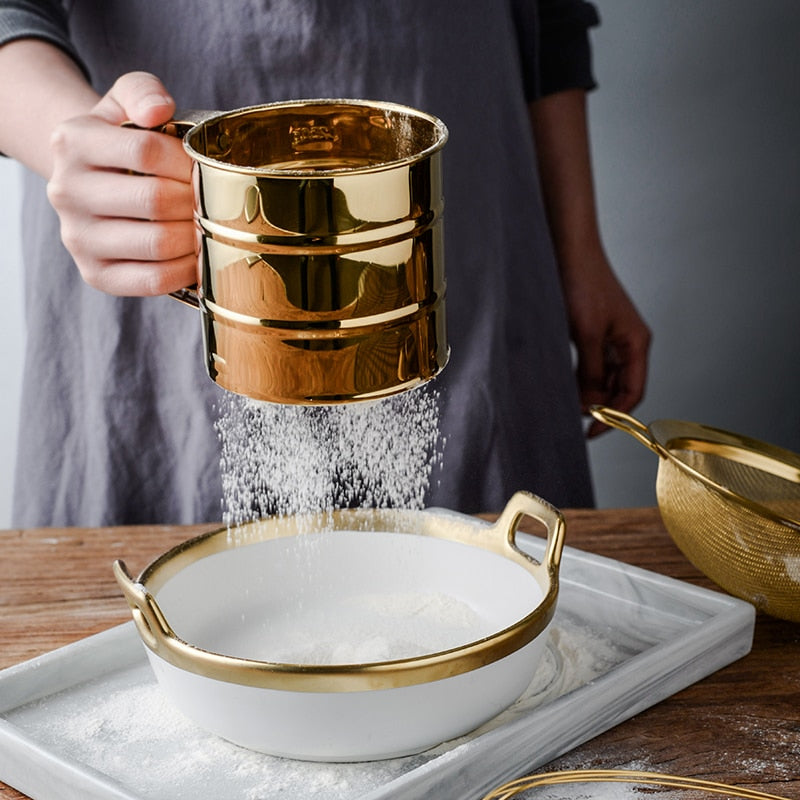 Trosa Gold Baking Set - EDEN + ASH