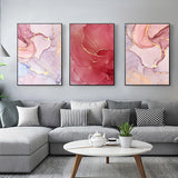 Abstract Rose Petal I Canvas Prints - EDEN + ASH