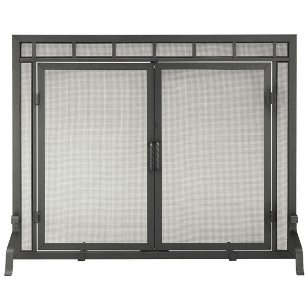 Minuteman Mission Style Fireplace Screen