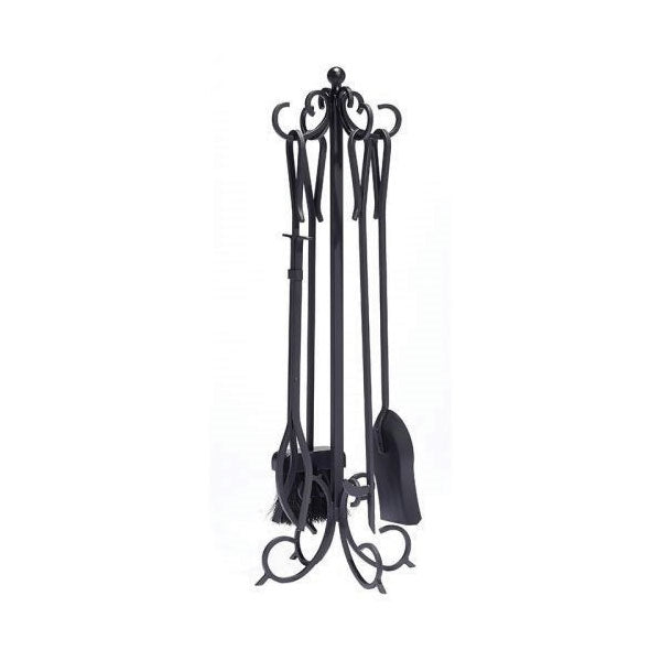 Scroll Fireplace Tool Set