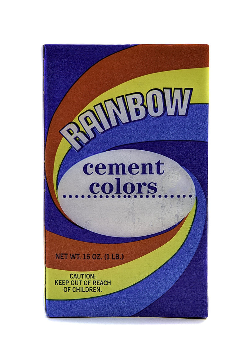 Rainbow Color - 1 lb. - lime proof red