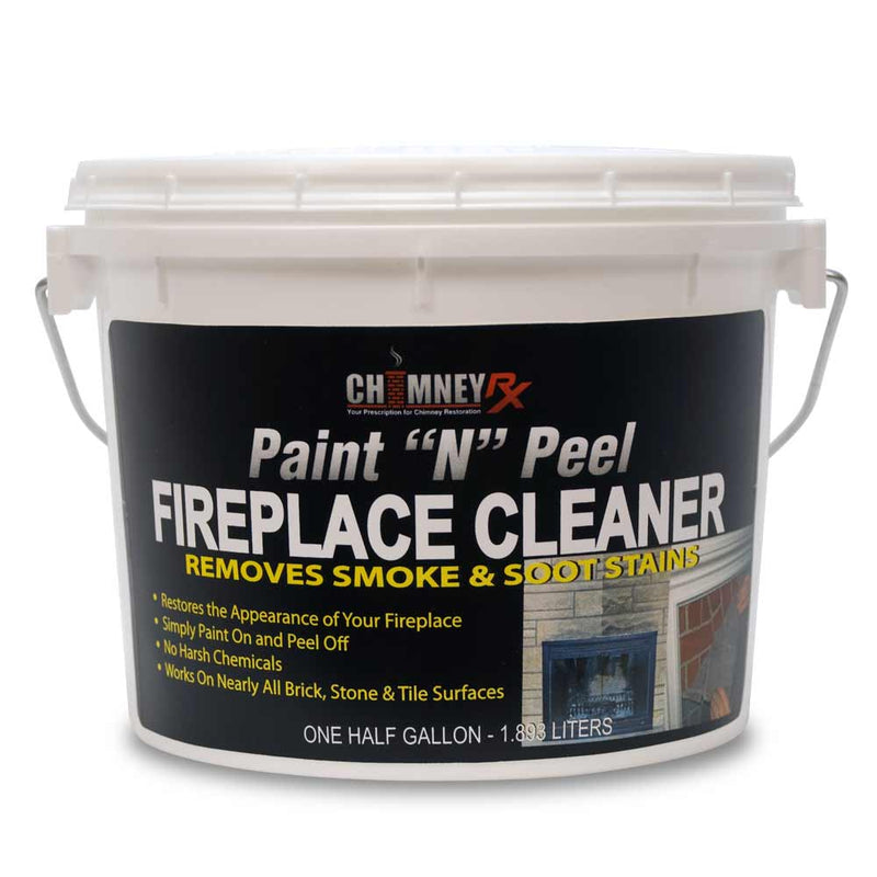 Chimney RX Paint N Peel Fireplace Cleaner - Case of 4
