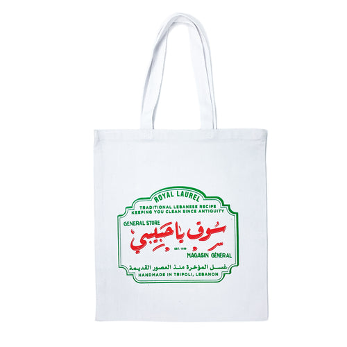 LAUREL SOAP TOTE BAG