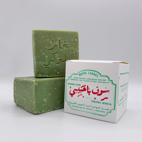 BATCH No678 / TRADITIONAL LAUREL SOAP from TRIPOLI, LEBANON (1 pack)