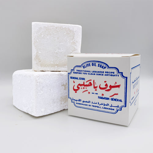 BATCH No678 / TRADITIONAL OLIVE OIL SOAP from TRIPOLI, LEBANON (1 pack)