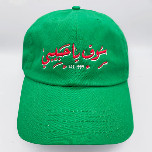 YHM FRESH MINT LOGO - DAD HAT