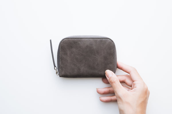 【予約商品】Key Zip Wallet / Space Gray【12月入荷】