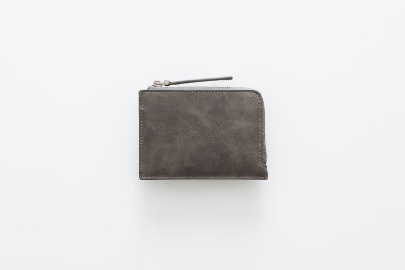 Slim Zip Wallet / Space Gray