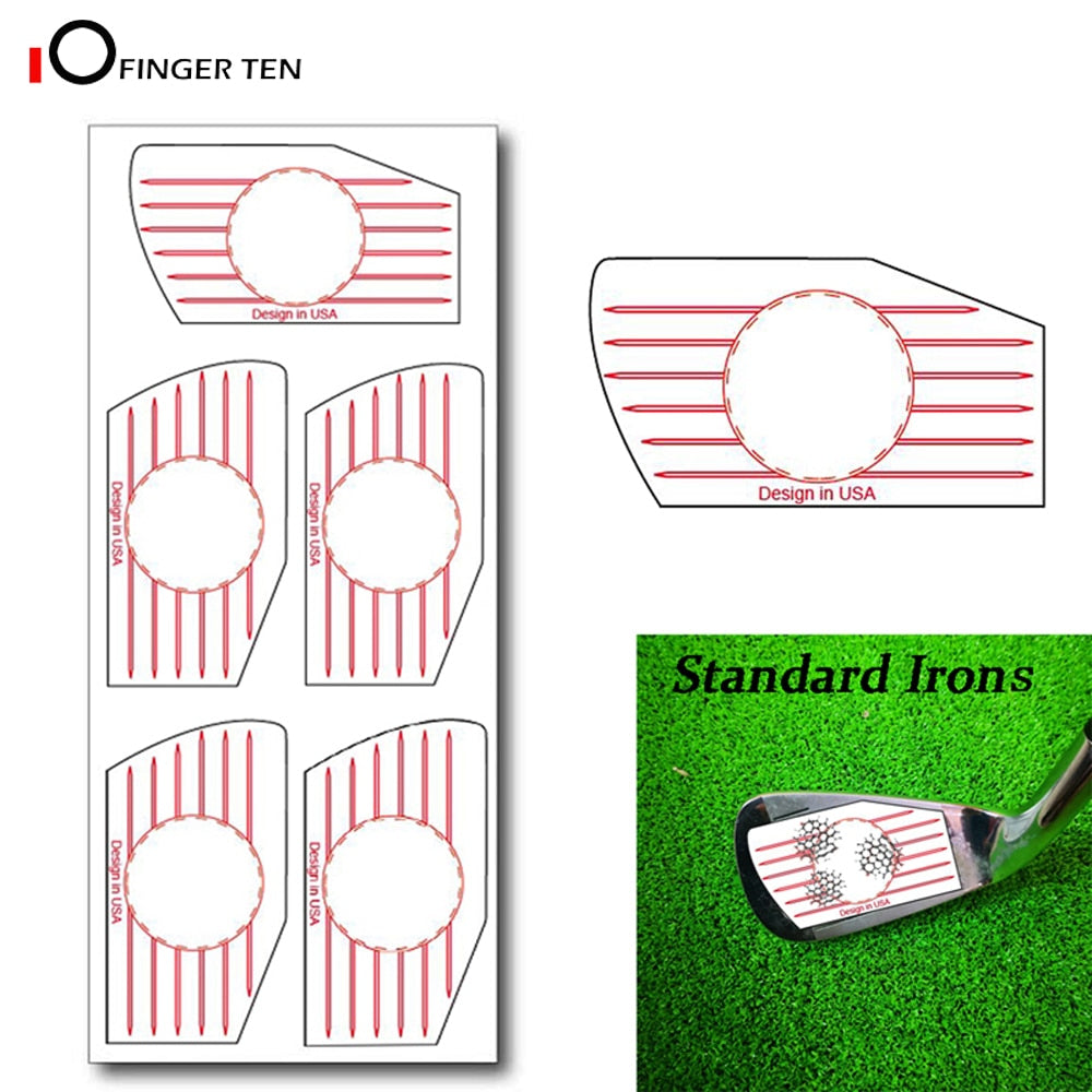 Golf Impact Labels