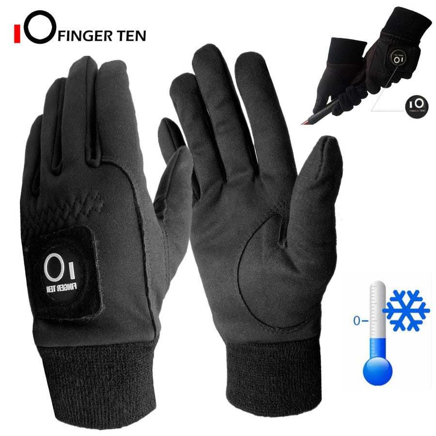 All Weather Winter Golf Gloves (Two Gloves)