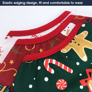 Christmas Dog Clothes Cotton
