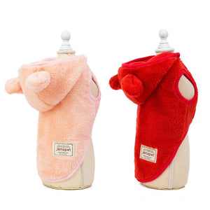 Soft Fleece Hoodies for Dogs