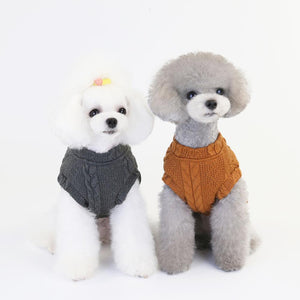 Knitting Sport Style Puppy Sweater