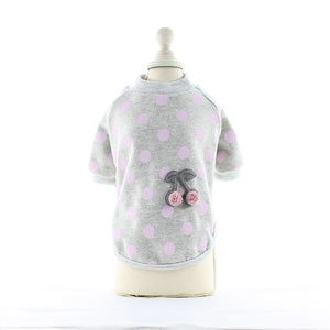 Small Dots Printing Cool Summer Fashion Pet Clothes