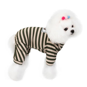2020 Four Legs Pet Clothing Small Puppy Dog Clothes Poodle Bichon Spring and Summer Fashion Dog Pijamas Dog Rompers