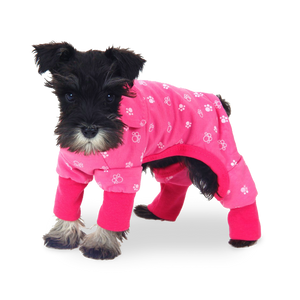 Pink Dog Onesie Pyjamas