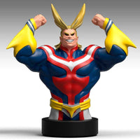 My Hero Academia All Might money box bust 25cm - InfoGeek