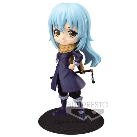Infogeek ANIME / MANGA|TENSURA That Time I Got Reincarnated as a Slime Rimuru Tempest Q Posket A figure 14cm